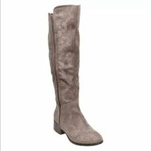 NEW Merona Tall Knee-High, Pull-on Riding Boots
